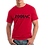 Thumbnail: EG207z Men's Softstyle Crew Neck Tee - Red