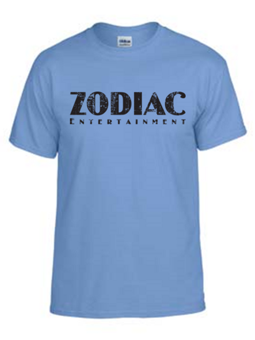 EG110z Carolina Blue - Unisex Tees w/ zodiac logo