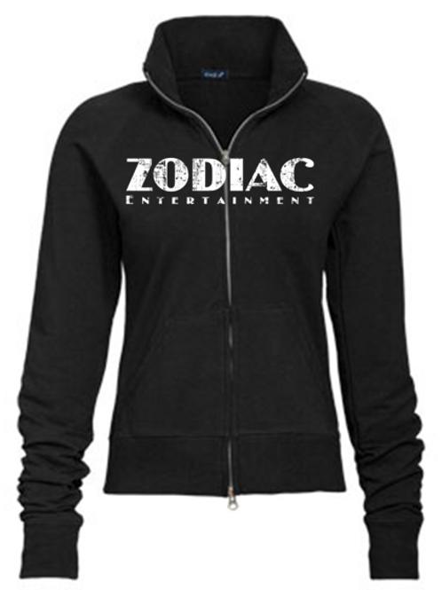 EE088z Ladies Track Jacket-Darks w/ Zodiac Logo