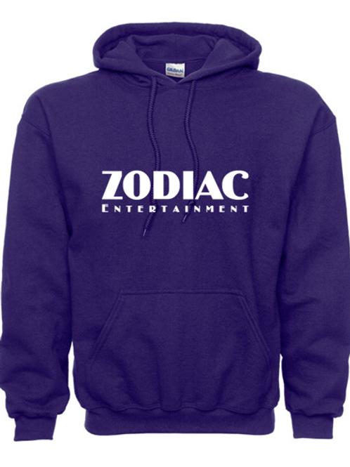 EG342z Hooded Sweatshirt - Purple w/ Zodiac Logo