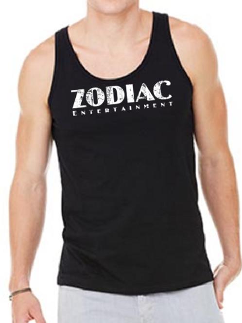 EB250z  Men's Jersey Tank - Black w/ Zodiac Logo