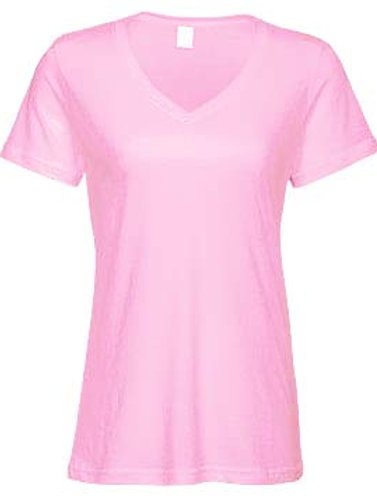 EA031 Ladies Lightweight V-Neck Tees