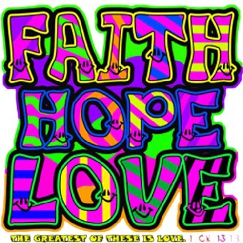 Faith Hope Love Neon - A8160F