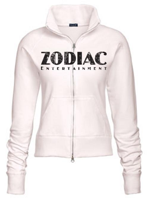 EZ088z Track Jacket-Cream w/ Zodiac Logo