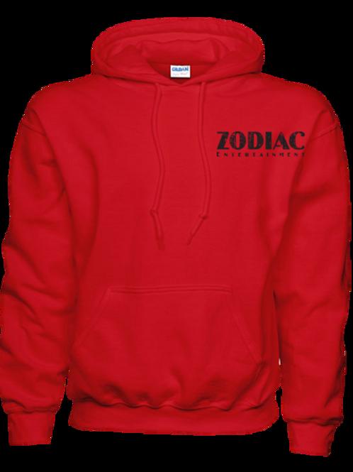 EG342z Hooded Pullover Sweatshirt -Brights w/ Blk Zodiac Logo
