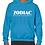 Thumbnail: EG342z Hooded Sweatshirt - Sapphire w/ Zodiac Logo