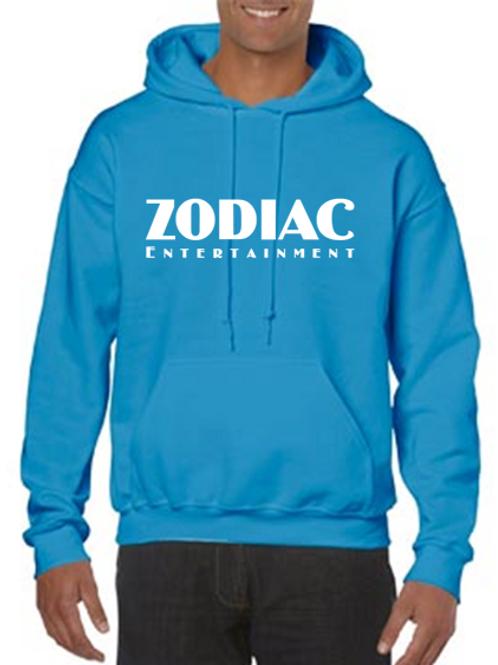 EG342z Hooded Sweatshirt - Sapphire w/ Zodiac Logo