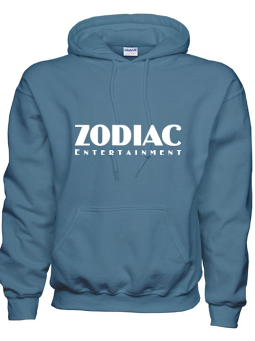 EG342z Hooded Sweatshirt - Indigo Blue w/ Zodiac Logo