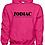 Thumbnail: EG342z Hooded Sweatshirt - Heliconia w/ Zodiac Logo
