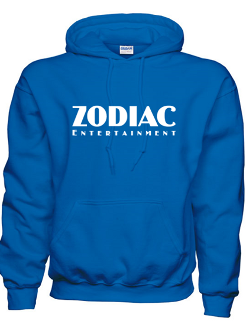 EG342z Hooded Sweatshirt - Royal w/ Zodiac Logo