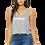 Thumbnail: EB8880z - Ladies Flowy Boxy Tank w/ Wht Zodiac Logo