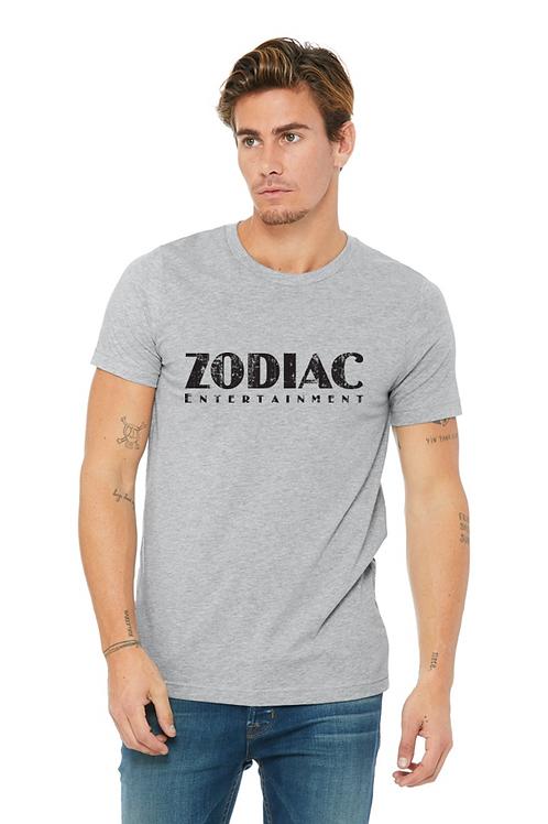 EB3001z Men's Jersey Short Sleeve Tee-Athletic Heather w/ Zodiac Graphics