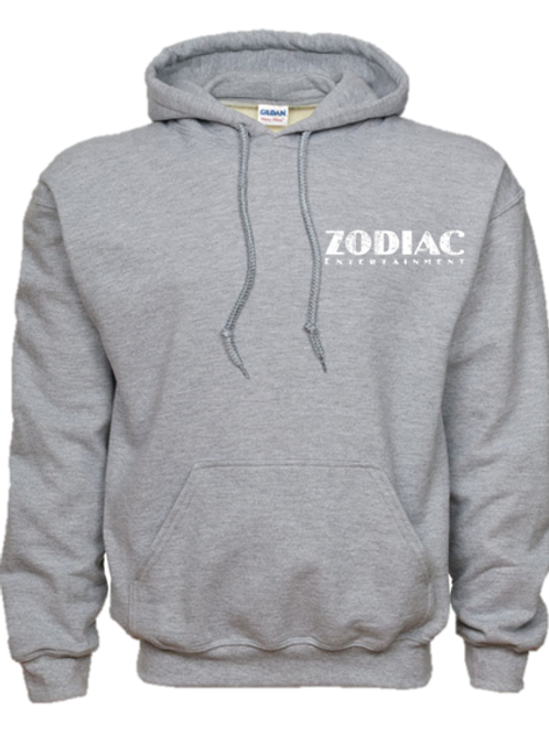 EG342z Hooded Pullover Sweatshirt -Lights w/ Wht Zodiac Logo