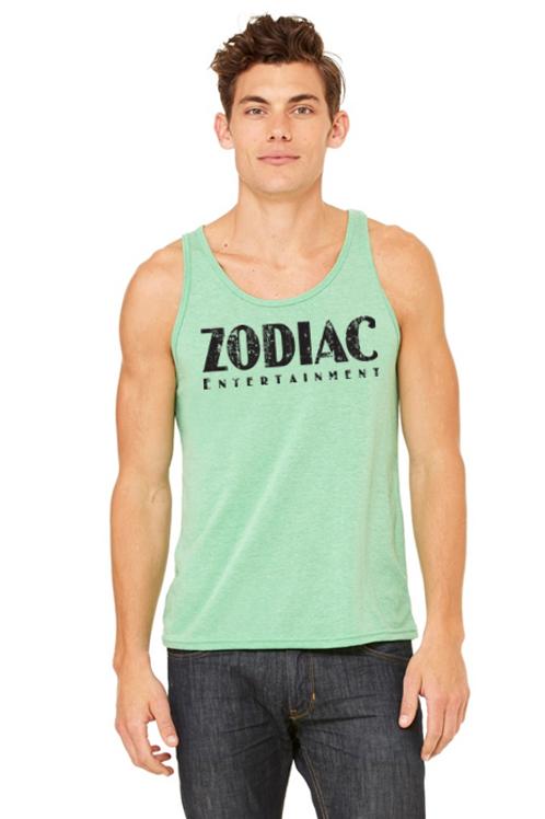 \EB3480z Men's Jersey Tank - Green TriBlend w/ Zodiac Logo