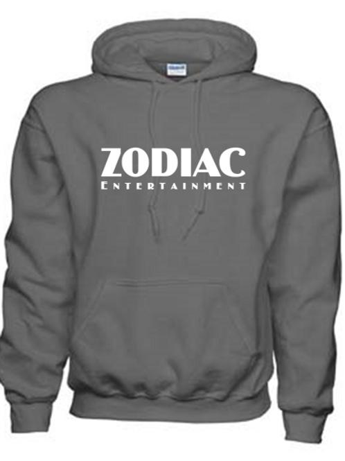 EG342z Hooded Sweatshirt - Charcoal w/ Zodiac Logo