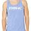 Thumbnail: EB250z  Men's Jersey Tank - Blue Triblend w/ Zodiac Logo