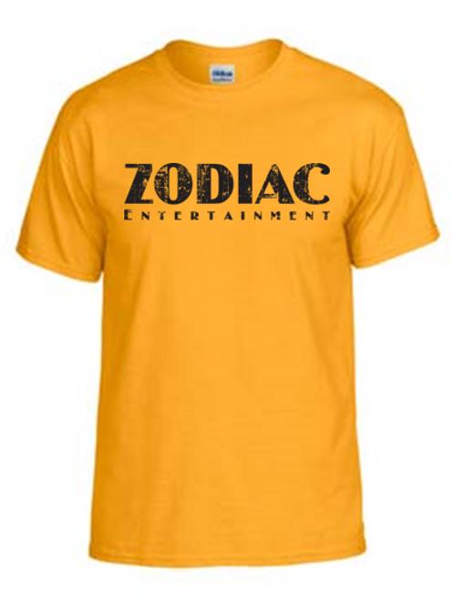 EG110z Gold - Unisex Tees w/ zodiac logo