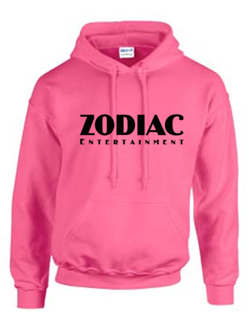EG342z Hooded Sweatshirt - Azalea w/ Zodiac Logo