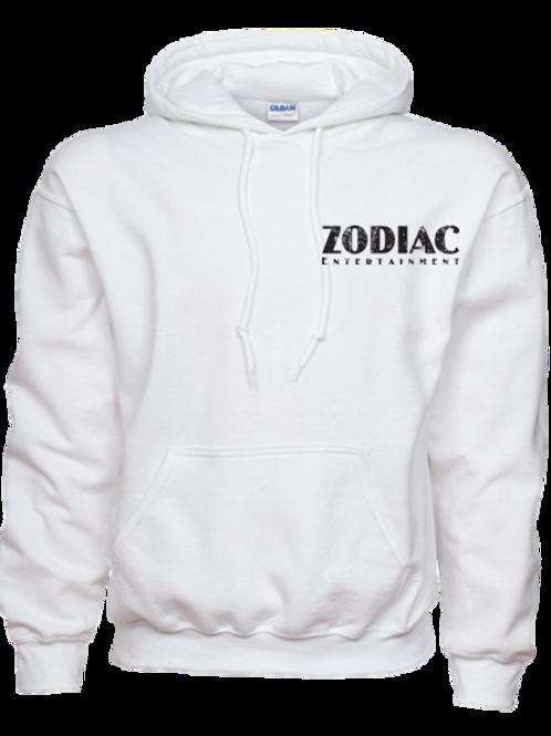 EG342z Hooded Pullover Sweatshirt -Lights w/ Blk Zodiac Logo