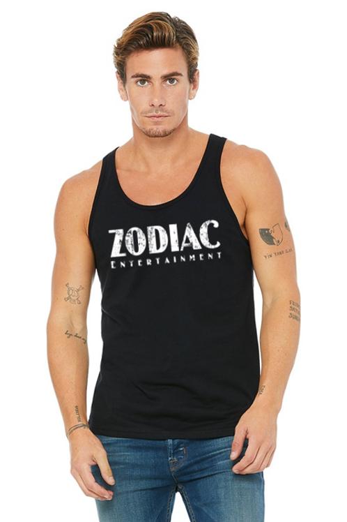 EB3480z Men's Jersey Tank - Black w/ Zodiac Logo