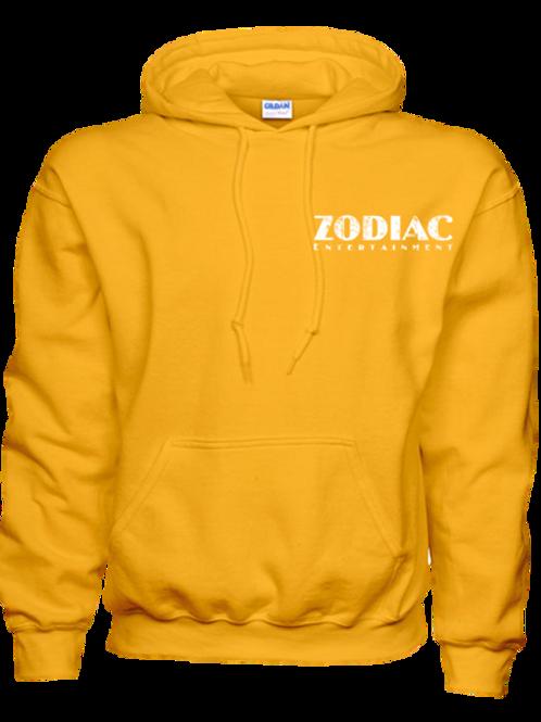 EG342z Hooded Pullover Sweatshirt -Brights w/ Wht Zodiac Logo