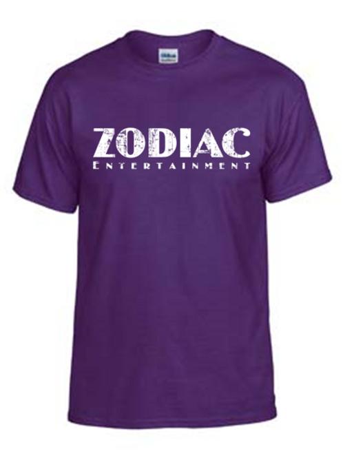 EG110z Purple - Unisex Tees w/ zodiac logo