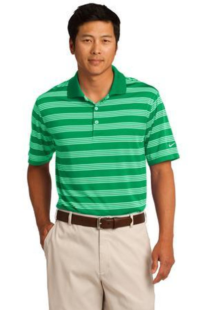 N578677 Nike Golf Dri-FIT Tech Stripe Polo
