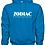 Thumbnail: EG342z Hooded Sweatshirt - Antique Sapphire w/ Zodiac Logo
