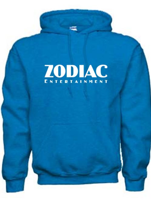 EG342z Hooded Sweatshirt - Antique Sapphire w/ Zodiac Logo