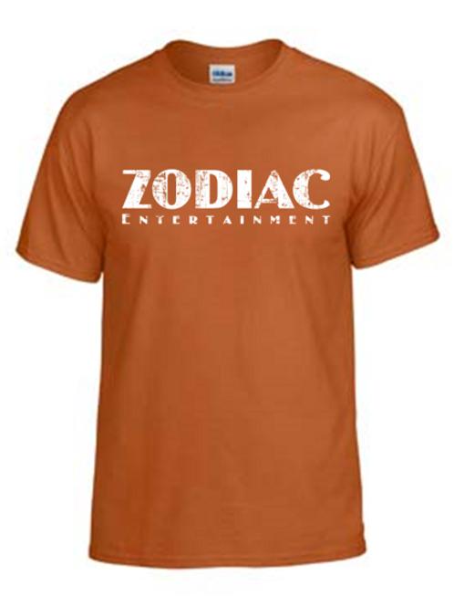 EG110z Texas Orange - Unisex Tees w/ zodiac logo