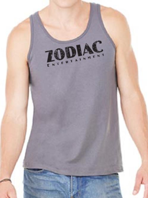 EB250z  Men's Jersey Tank - Asphalt w/ Zodiac Logo