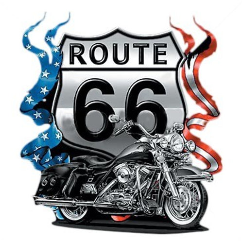 Route 66 Motorcycle - A4183C