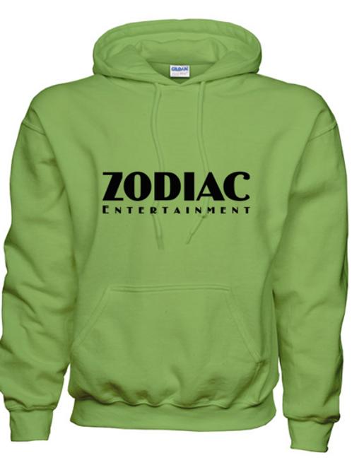EG342z Hooded Sweatshirt - Kiwi w/ Zodiac Logo