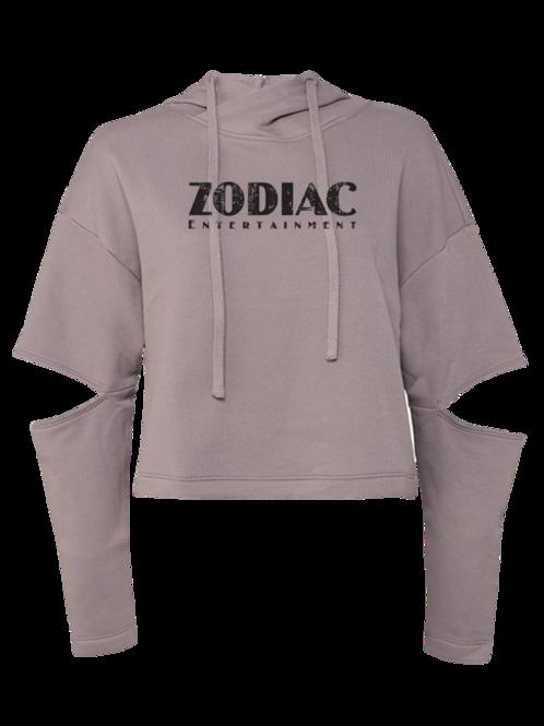 EB7504z Ladies Cut Out Fleece Hoodie w/ Zodiac Logo