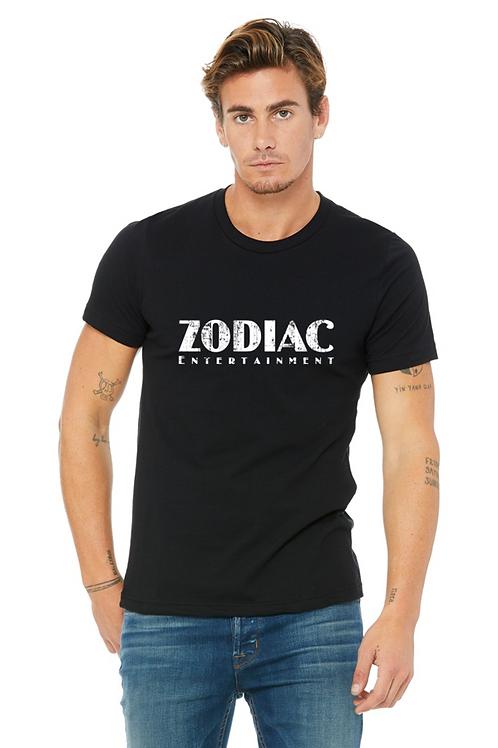 EB3001z Men's Jersey Short Sleeve Tee-White w/ Zodiac Graphics