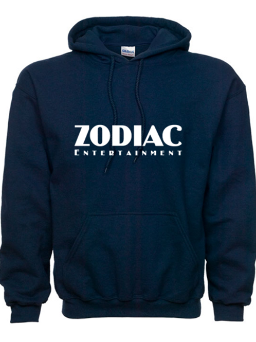 EG342z Hooded Sweatshirt - Navy w/ Zodiac Logo