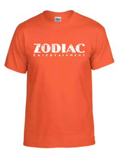 EG110z Orange - Unisex Tees w/ zodiac logo