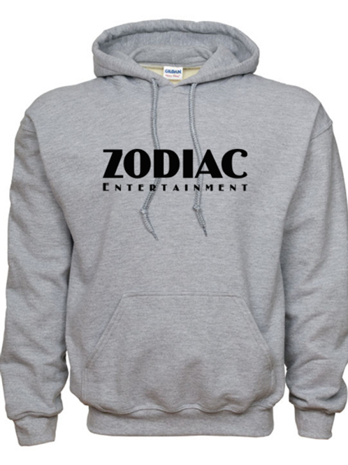 EG342z Hooded Sweatshirt - Sport Grey w/ Zodiac Logo