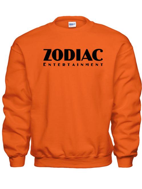 EG360z Heavy Blend Crew Neck Sweatshirt-Darks w/ Zodiac Logo