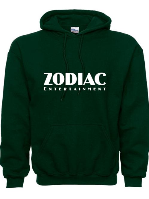 EG342z Hooded Sweatshirt - Forest w/ Zodiac Logo