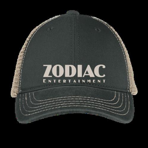 EDT630z ExpressIt Soft Mesh Back Cap w/ Zodiac Logo