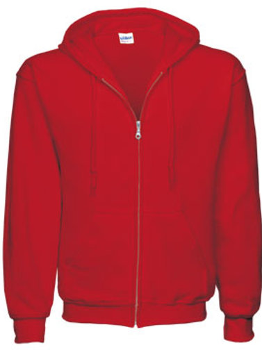 EG343 Men's Full Zip Hoodies-Brights & Darks