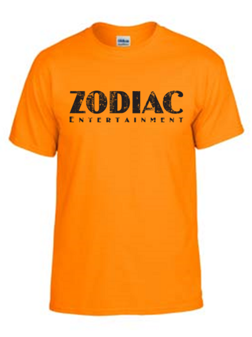 EG110z Tennessee Orange - Unisex Tees w/ zodiac logo