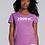 Thumbnail: EG046z - Ladies V-Neck Tee w/ white logo