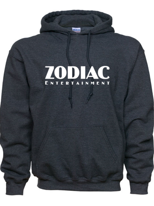 EG342z Hooded Sweatshirt - Dark Heather w/ Zodiac Logo