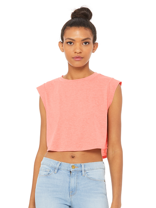 EB8483 - Ladies Cropped Tank