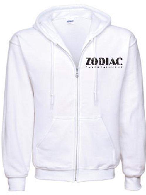 EG343z Heavy Blend Full Zip Hooded Sweatshirt-Lights & Heathers w/ Zodiac logo