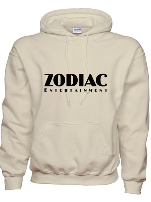 EG342z Hooded Sweatshirt - Sand w/ Zodiac Logo