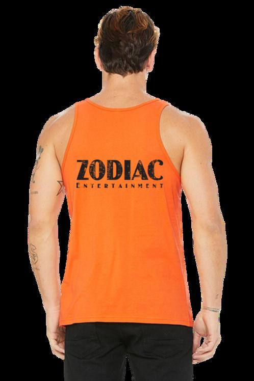 EB3480z Men's Jersey Tank w/ Small Back Zodiac Logo