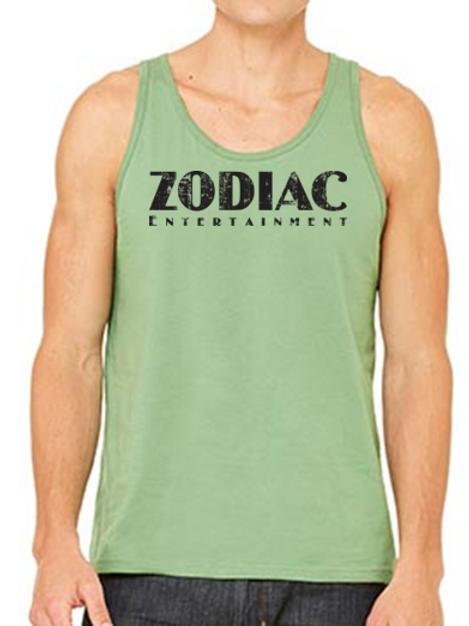EB250z  Men's Jersey Tank - Leaf w/ Zodiac Logo